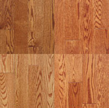 Appalachian Flooring stained red oak