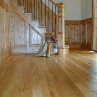 County Floors Hand Scraped Finished White Ash