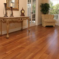 Chelsea Plank Traditional Coffee Hickory Flooring