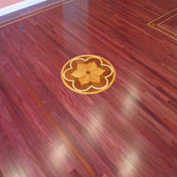 County Floors Engineered Purpleheart Unfinished Flooring