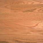 Plain-sawn Red Oak wood flooring