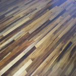 Imbuia wood flooring - clear grade