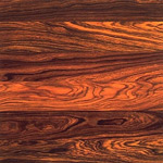 Cocobolo Wood Flooring Sample