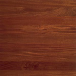 Santos Mahogany Wood Flooring Sample