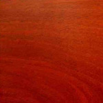 African Padauk Wood Flooring Sample